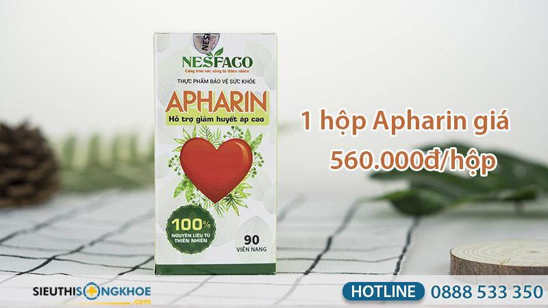 giá viên uống huyết áp apharin