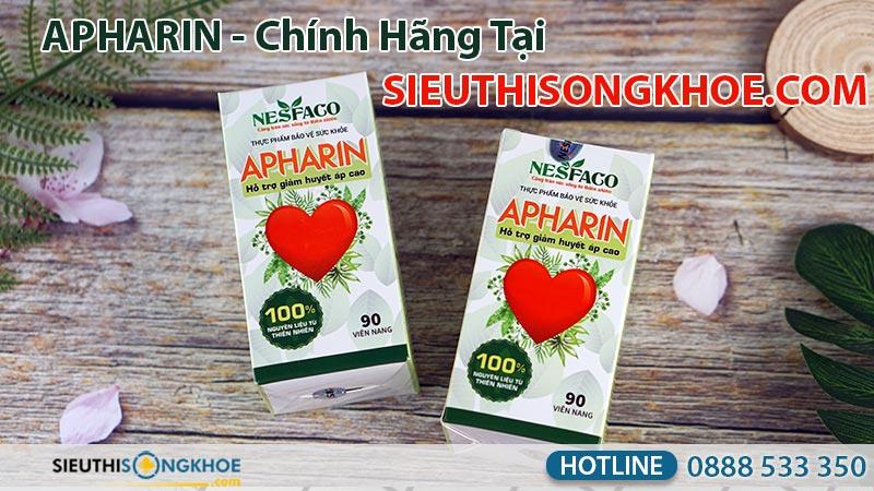 huyết áp apharin chính hãng tại công ty Siêu Thị Sống Khoẻ