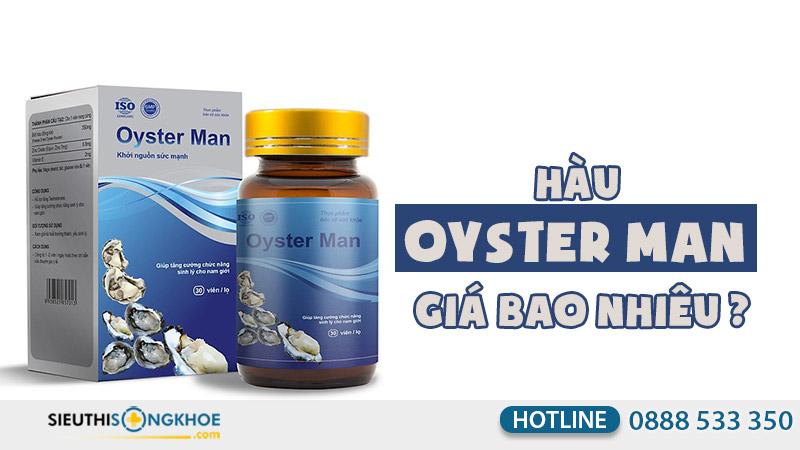 oyster man giá bao nhiêu