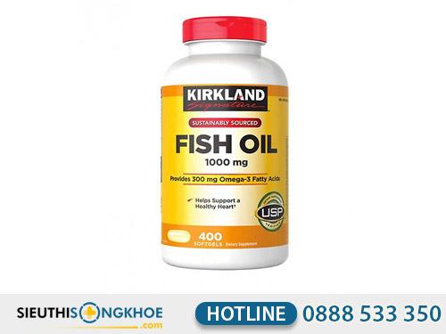 dau ca kirkland signature fish oil 1000mg