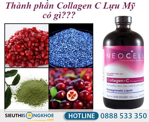 thanh phan cua collagen c luu