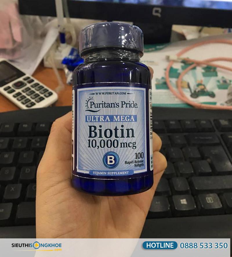 ultra mega biotin 100 viên