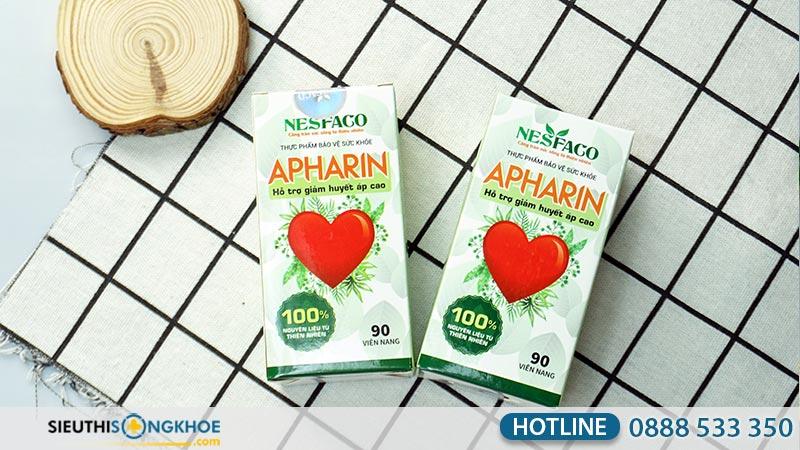 giá huyết áp apharin