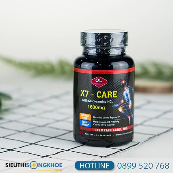 X7 Care - Viên Uống Hỗ Trợ Xương Khớp Chắc Khỏe
