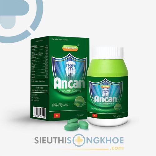 AnCan - Viên Uống Hỗ Trợ Điều Trị Ung Bướu, Ngừa Ung Thư