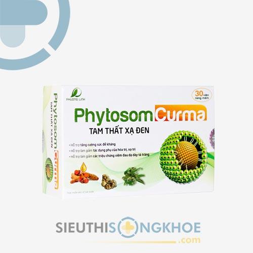 Phytosom Curma Tam Thất Xạ Đen HVQY - Cải Thiện Đau Dạ Dày, Hành Tá Tràng Hiệu Quả