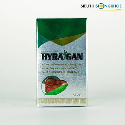 Hyra Gan - Viên Uống Hỗ Trợ Cải Thiện Chức Năng Gan