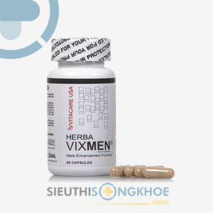 Vitacare USA Herba Vixmen – Hỗ trợ tăng cường sinh lý phái mạnh