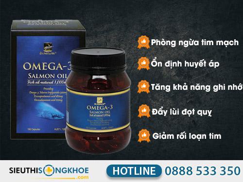 vien dau ca hoi dr natural omega 3 salmon oil