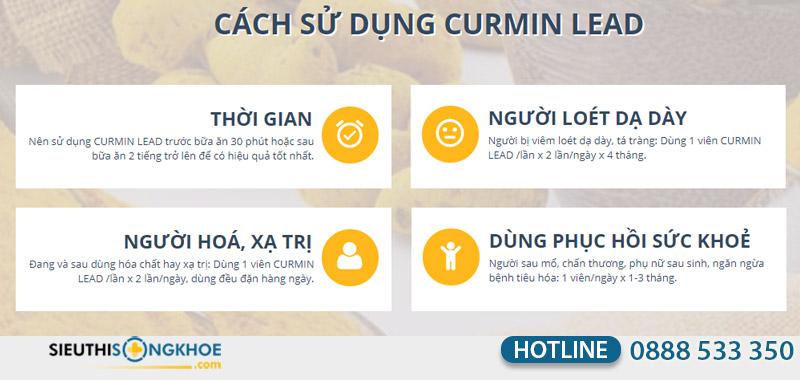 curcumin lead
