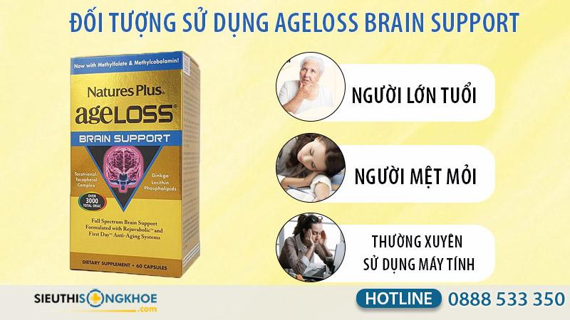 viên bổ não ageloss brain support