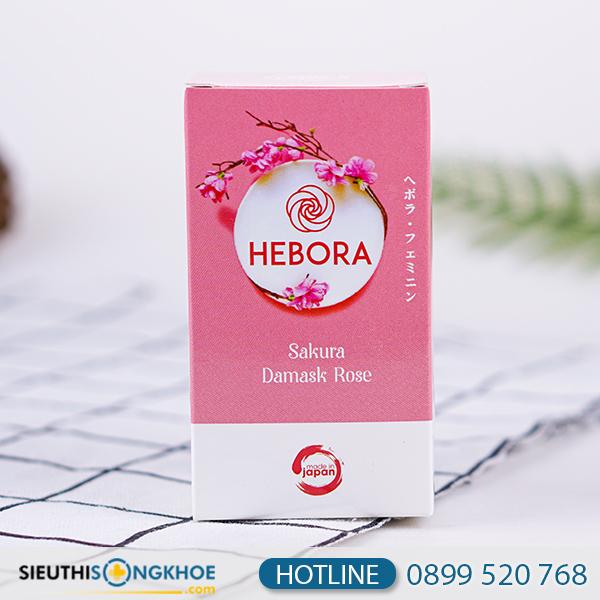 Hebora - Viên Uống Tạo Hương Thơm Nữ Tính Cho Thể Phái Đẹp