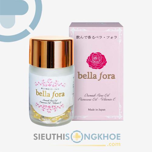 Bella Fora - Viên Uống Tạo Hương Hoa Hồng Tự Nhiên Cho Cơ Thể
