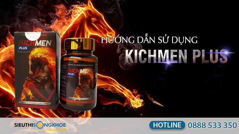 hướng dẫn sử dụng kichmen plus
