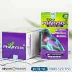 Pharysol - Viên Uống Hỗ Trợ Cải Thiện Viêm Họng, Viêm Amidan Hiệu Quả