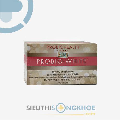 PROBIO WHITE - Viên uống sáng da men vi sinh