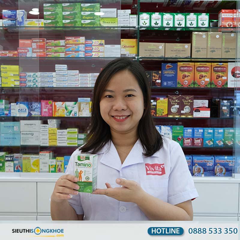 tăng cân tamino có bán tại hiệu thuốc không