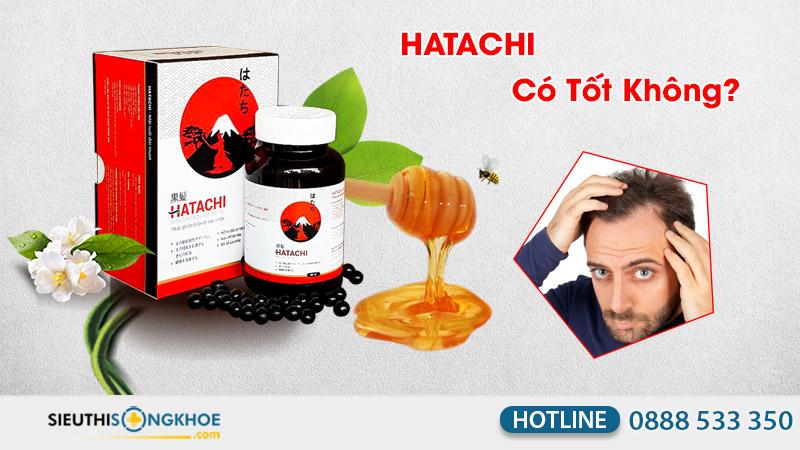 viên uống giúp tóc chắc khỏe hatachi có tốt không