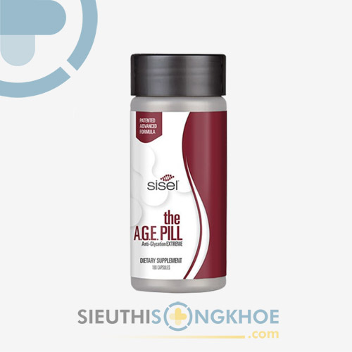 Sisel The AGE Pill- Viên Uống Hỗ Trợ Chống Lão Hóa