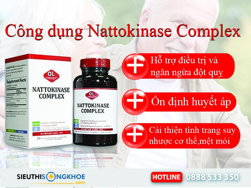 công dụng nattokinase complex