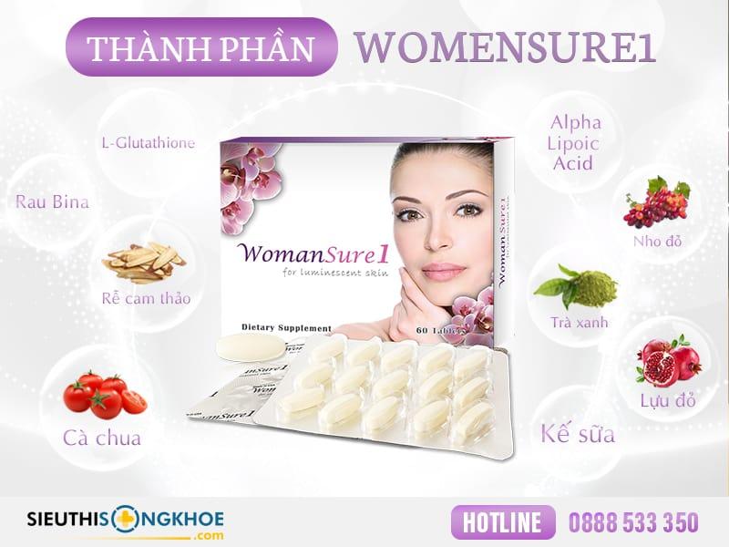 thành phần womansure1