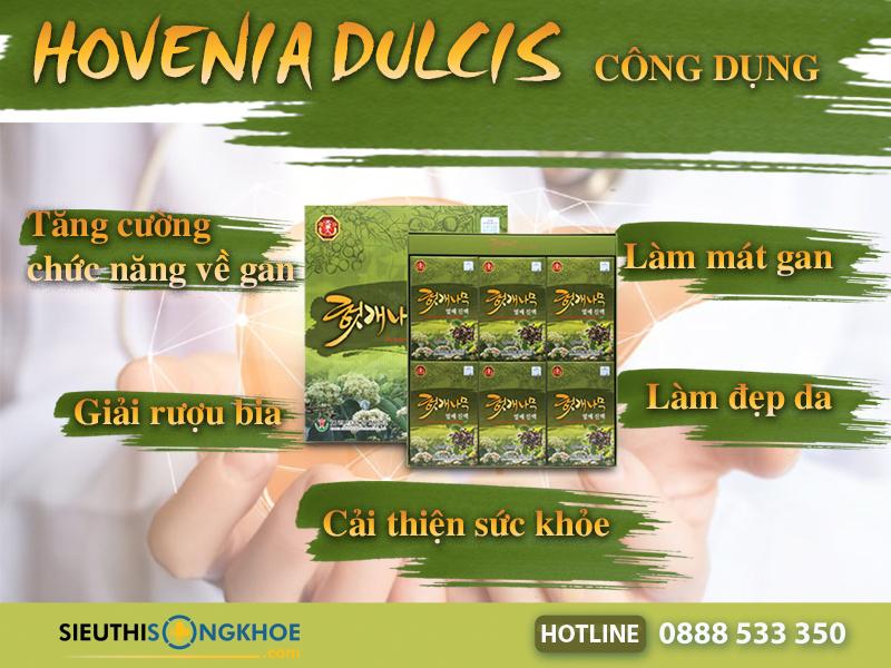 công dụng hovenia dulcis thunberg