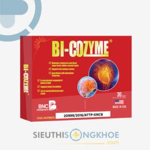 Bi-Cozyme – Viên Uống Hỗ Trợ Ngăn Ngừa Nhồi Máu Cơ Tim