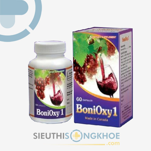 BoniOxy1 - Hỗ Trợ Ngăn Ngừa Tai Biến Mạch Máu Não
