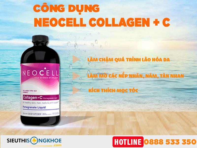 công dụng collagen c neocell lựu dnagj nước