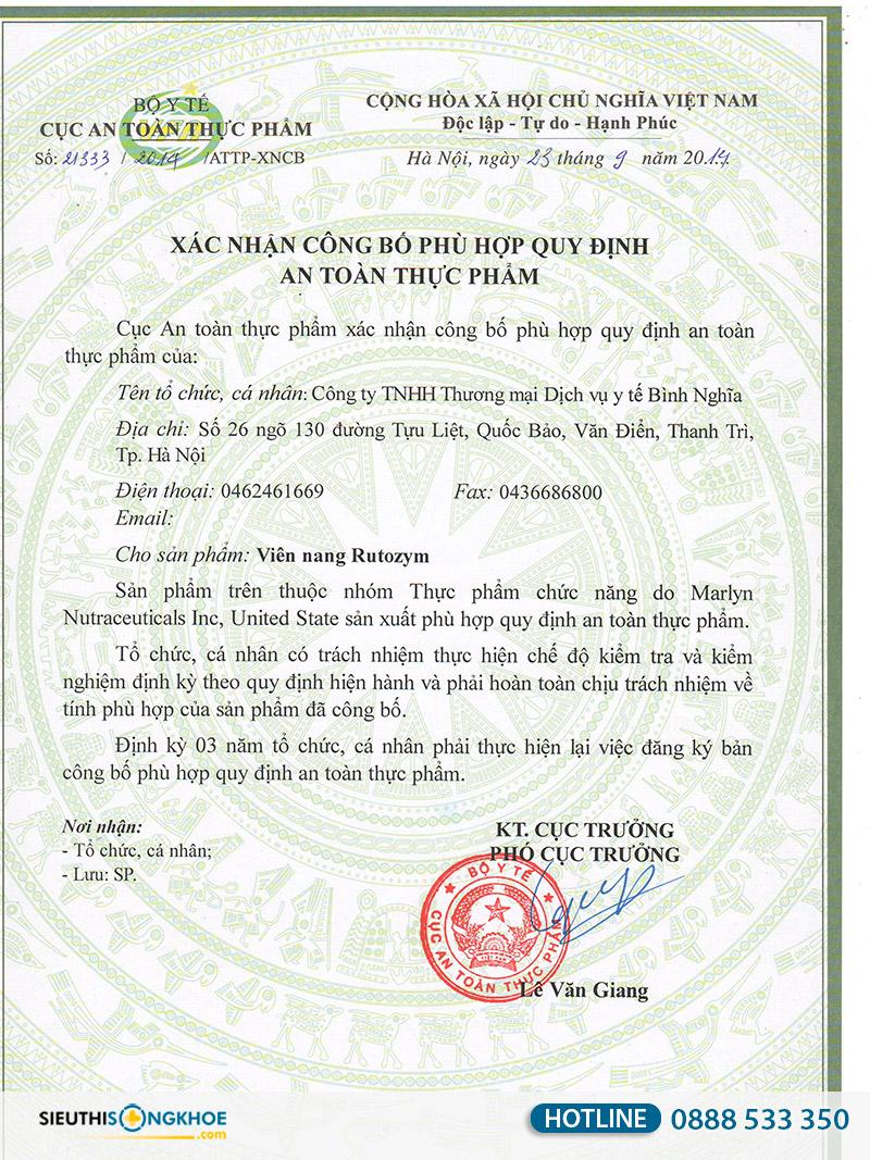 rutozym co tot khong