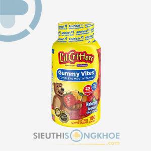 Kẹo Dẻo L'il Critters Gummy Vites – Bổ Sung Vitamin Và Dưỡng Chất Cho Bé