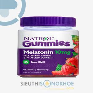 Natrol Gummies Melatonin – Kẹo Dẻo Hỗ Trợ Ngủ Ngon Giấc