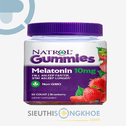 Natrol Gummies Melatonin - Kẹo Dẻo Hỗ Trợ Ngủ Ngon Giấc