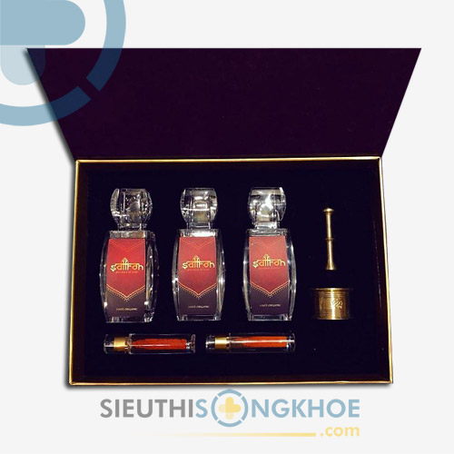 Set Nhuỵ Hoa Nghệ Tây Saffron (10gr) - Tăng Cường Sức Khỏe, Đẹp Da