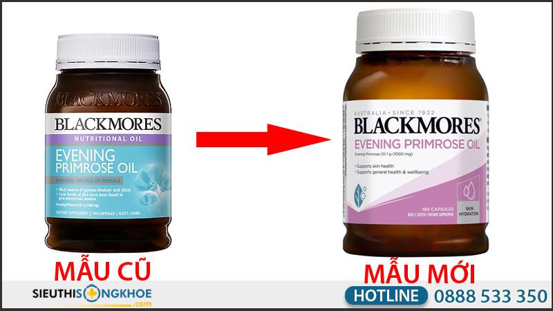 mẫu mới tinh dầu hoa anh thảo blackmores