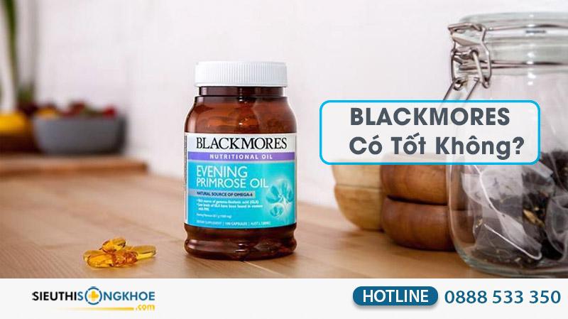 tinh dầu hoa anh thảo blackmores có tốt không
