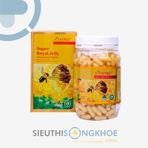 Sữa Ong Chúa Vitatree Super Royal Jelly - Nâng Cao Thể Trạng, Đẩy Lùi Lão Hóa