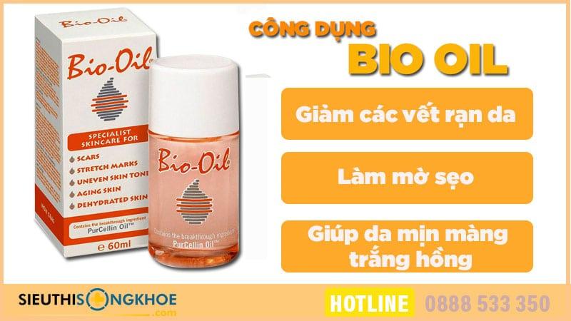 công dụng bio oil