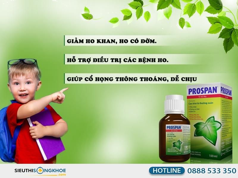 công dụng thuốc ho prospan đức