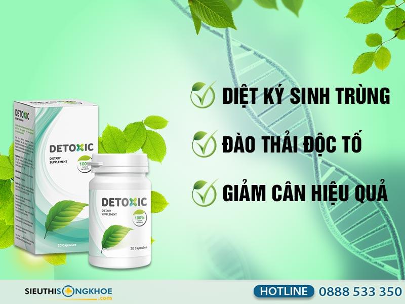 công dụng detoxic