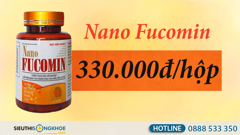 nano fucomin giá bao nhiêu