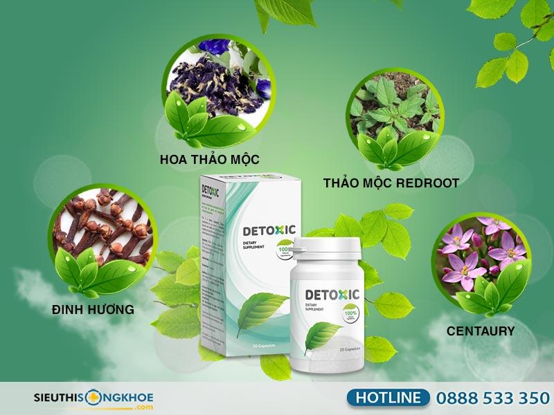 thành phần detoxic