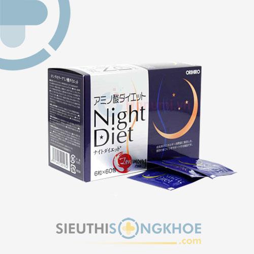 Night Diet Orihiro - Viên Giảm Cân Ban Đêm Hiệu Quả Nhật Bản