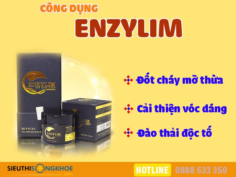 công dụng enzylim