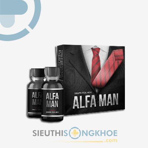 AlFa Man - Tăng Cường Sinh Lý Nam Hiệu Quả