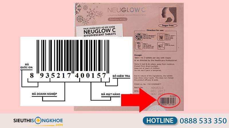 cách phân biệt thật giả neuglow c