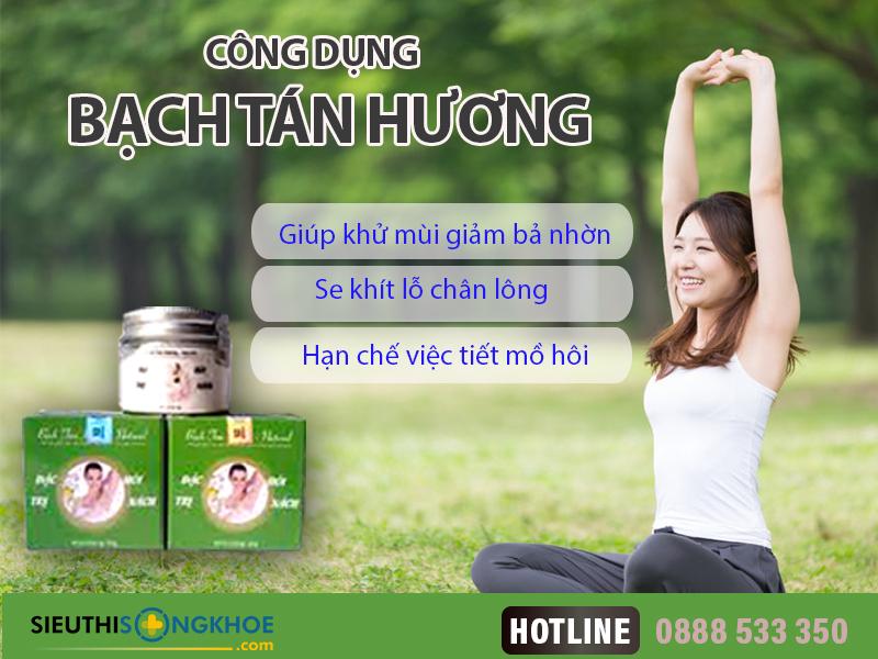cong dung bach tan huong
