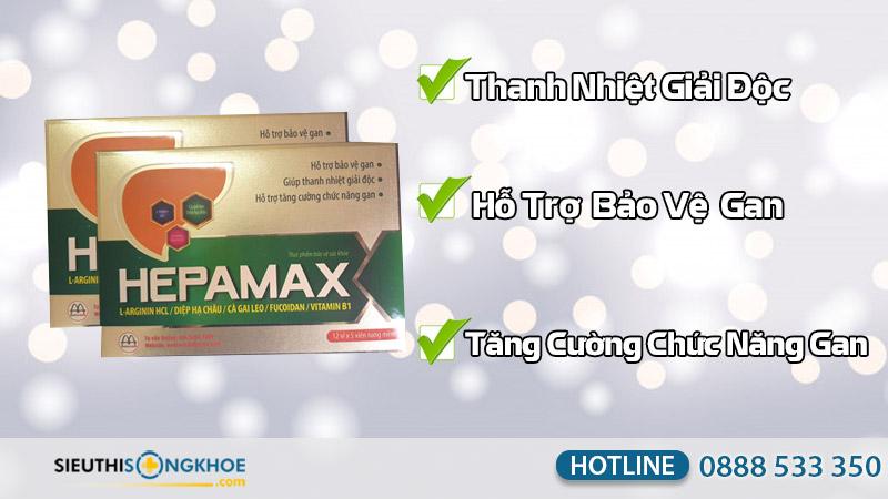 công dụng hepamax