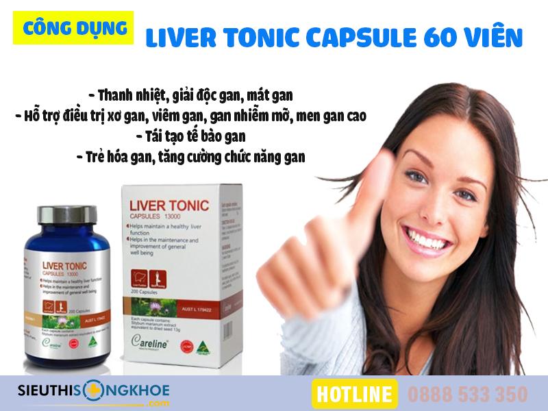 liver tonic capsule