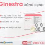 Ginestra – Viên Đặt Phụ Khoa Hỗ Trợ Ngừa Viêm Âm Đạo
